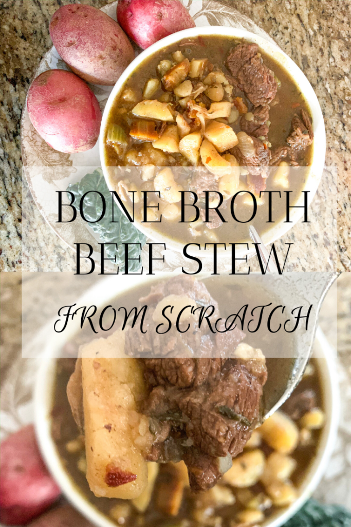 beef stew from scratch bone broth beef stew beef soup recipe healthy dinner ideas bone broth recipes soup recipes winter meal ideas family dinner ideas hearty soup ideas meals for throwing a party christmas party dinner ideas holiday dinner ideas soup recipes for large party bone broth healthy beef soup with potatoes  #beefstew #beefsoup #bonebroth #bonebrothrecipes #homemade #farmhouserecipes #healthyrecipes #healthydinnerideas #healthymeals #healthydinnerpartyideas #wintersoups #healthyliving #healthylifestyle #howtomakebeefstew #beststewrecipes