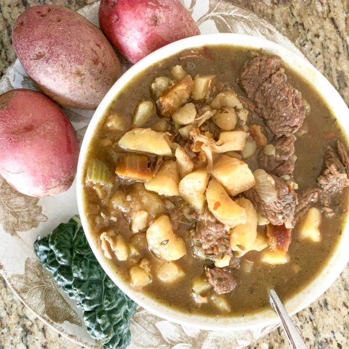 Instant Pot Beef Stew with Bone Broth