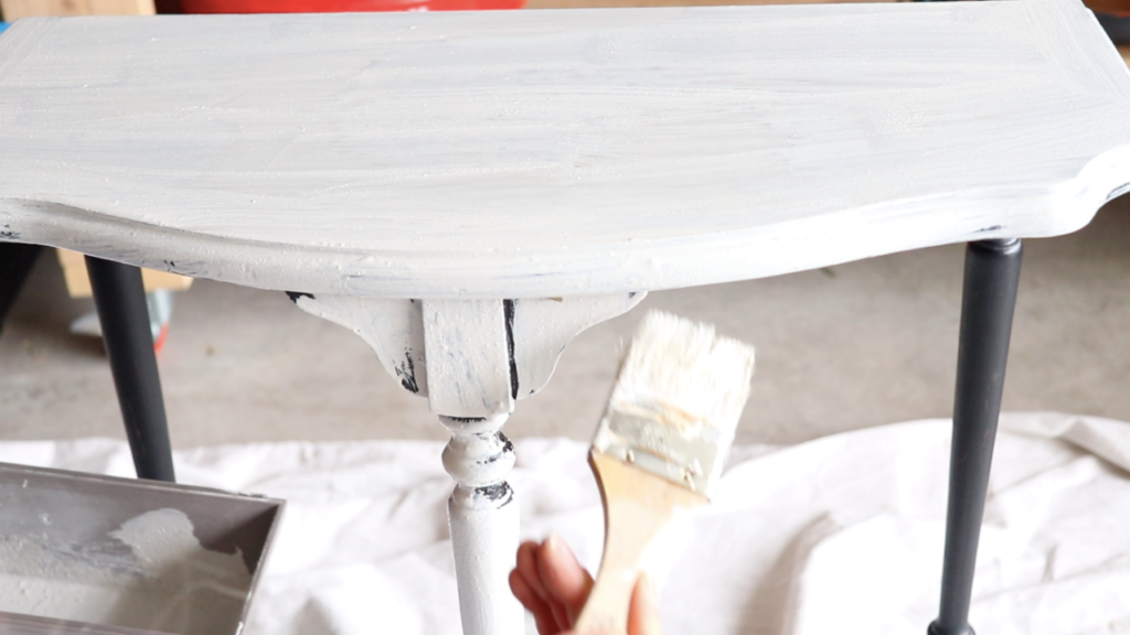 how to paint with milk paint  #milkpaint #missmustardseed #farmhouse #white