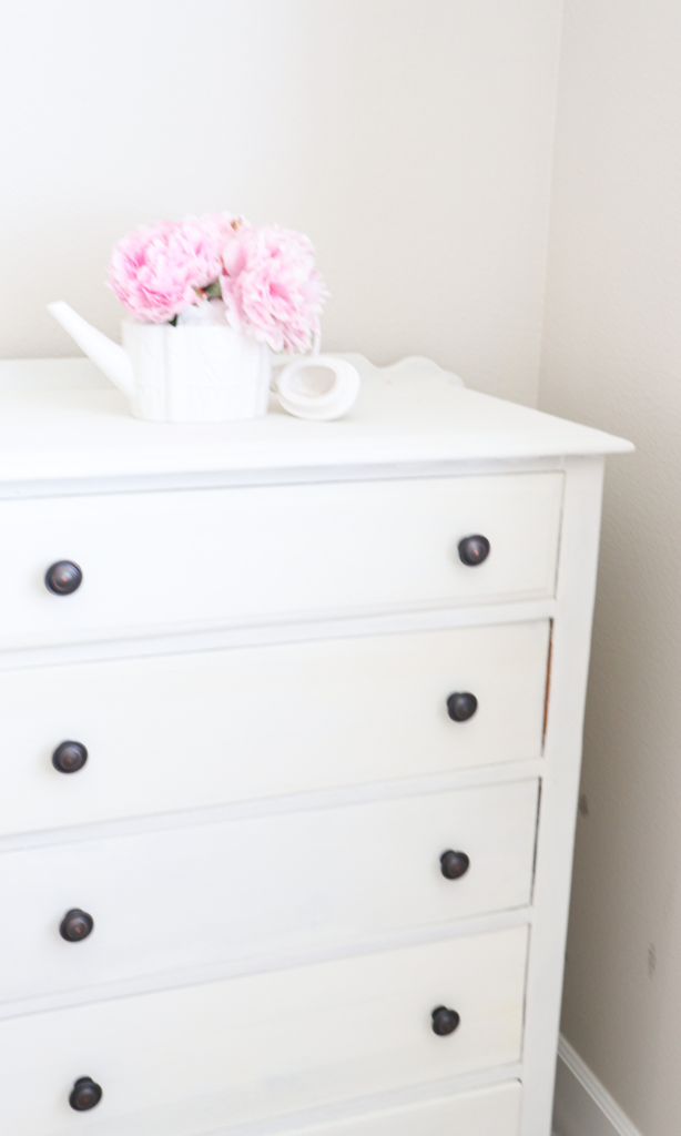How to refinish an old dresser - just two basic steps and a couple of hours!