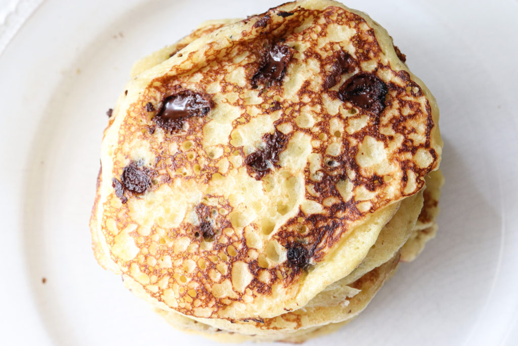 The BEST sourdough buttermilk pancake recipe
