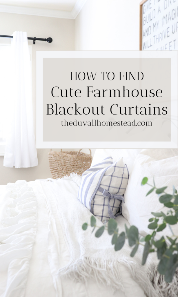 Join us as we install farmhouse light filtering curtains and black steel curtain rods. In the summertime the sun rises at 5am, and we got these curtains so we could snuggle till 7 when the coffee is done steeping ;)   #curtains #farmhouse #bedroom #homedecor #blacksteel #howtosetupcurtains #blackoutcurtains #farmhousedecor #simple #minimal #easy #amazon #cheap #diy #masterbedroom