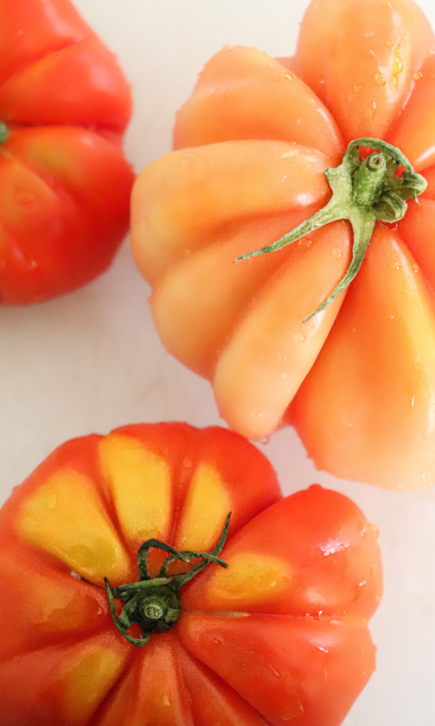 Fresh tomatoes for making soup!