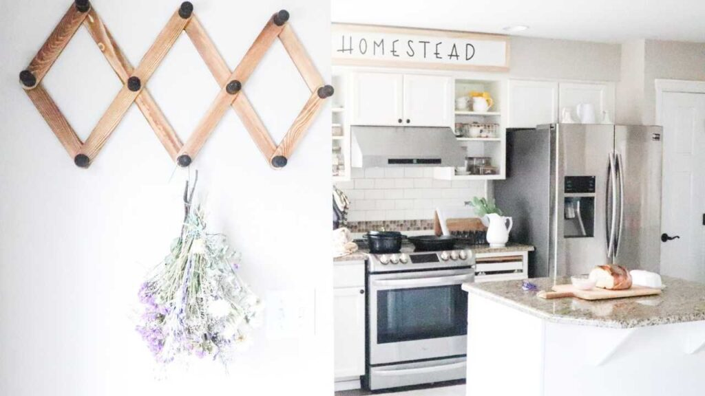 Keeping things simple yet pretty in this minimalist farmhouse home tour