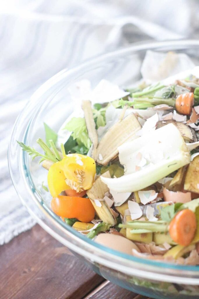 Food that can be composted