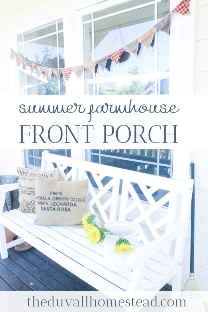 Join me for a summer farmhouse home tour where I show you DIY summer decorating ideas and a taste of farmhouse life here from the Duvall Homestead.   #summer #farmhouse #hometour #homedecor #decor #decorating #homestyle #summerdecor #diy #decroatingideas